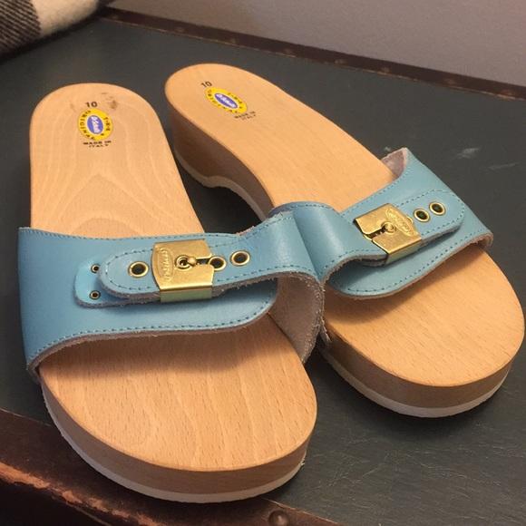 677073be705 Dr. Scholl s Shoes - Dr Scholls wood clogs women 10